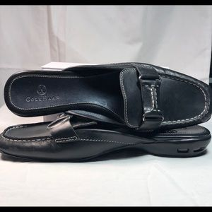 Cole Haan Black Mules with Nike Air Soles